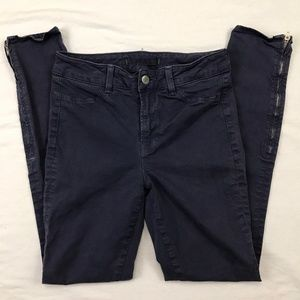 J Brand Size 26 Skinny Matchstick Jeans Ankle Zip